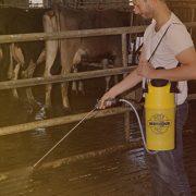 Image ambiance pulvérisateurs hygiène élevage